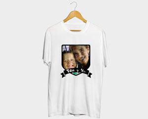 Camiseta Blanca Algodon Personalizada